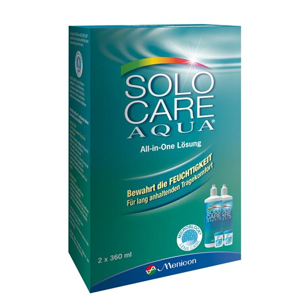 Solocare Aqua 2x360 ml/2 Behälter