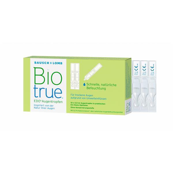 Biotrue Augentropfen 10x0,5 ml