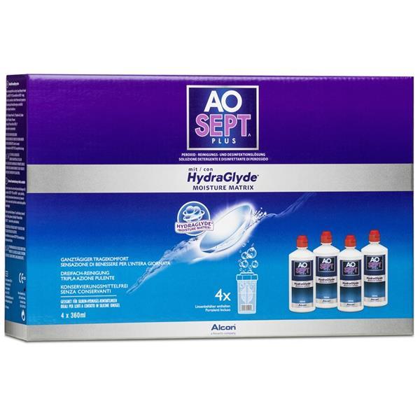 AOSEPT HydraGlyde Systempack 4x360 ml
