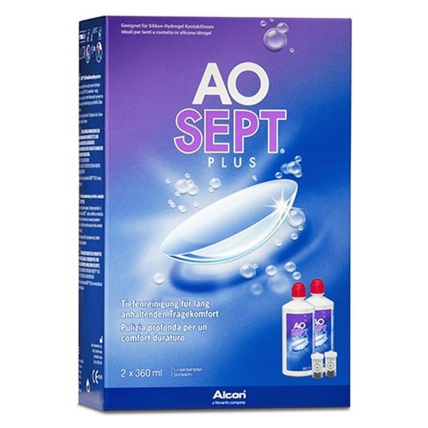 AOSEPT PLUS Vorratspack 2x360 ml