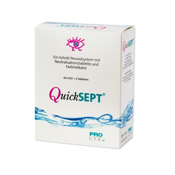 QuickSEPT Reiseset 60 ml/6 Tab/Behälter