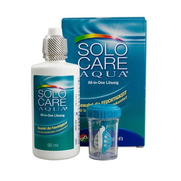Solocare Aqua Reiseset 90 ml/1 Behälter