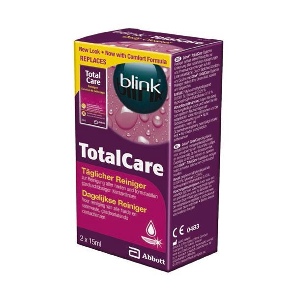 blink Total Care Reiniger 2x 15 ml