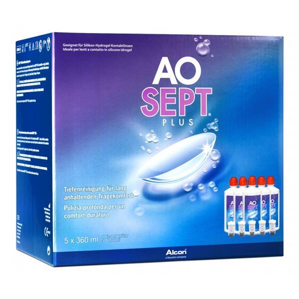 AOSEPT PLUS SPARPACK 5x360 ml/5 Disc-Behälter