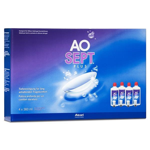 AOSEPT PLUS Systempack 4x360 ml